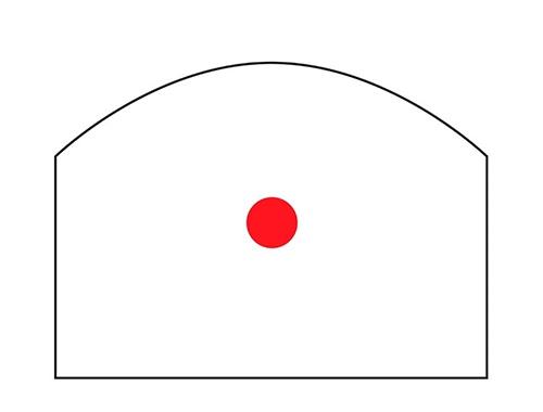 Crvena točka BURRIS Fast Fire III 3MOA