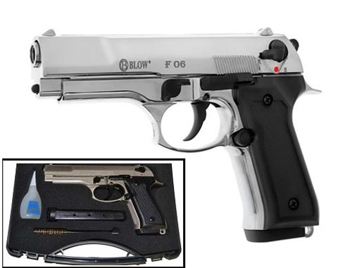 Plinski pištolj BLOW F06 Chrome 9mm