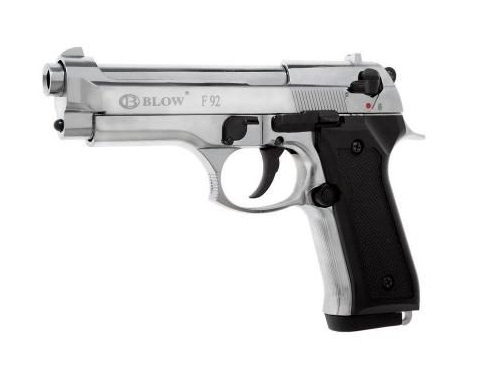 Plinski pištolj BLOW F92 Chrome 9mm