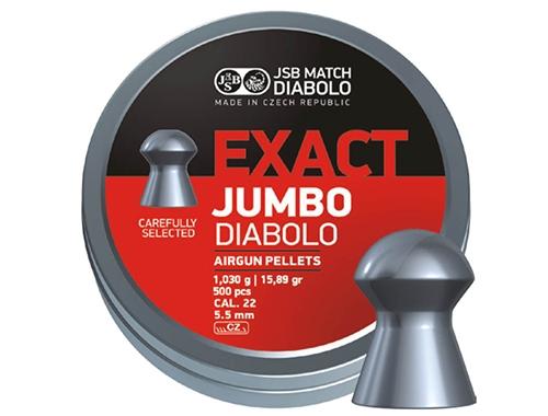 JSB Diabolo Jumbo Exact .22 1,030g (500)
