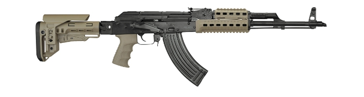Puška SDM AK-47 SPETSNAZ 7,62x39mm FDE