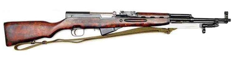 Puška Simonov SKS 7,62x39mm