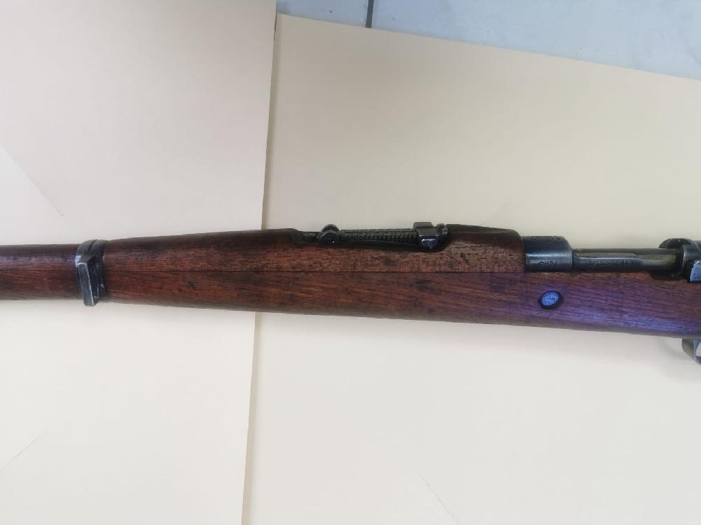 POLOVNO Puška Crvena Zastava M48 8x57IS - Konzervirana